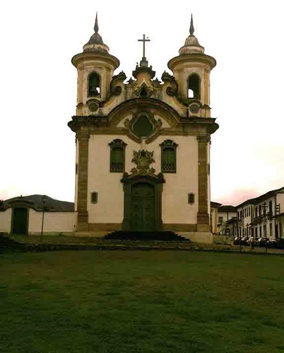 Igreja do Carmo em Mariana