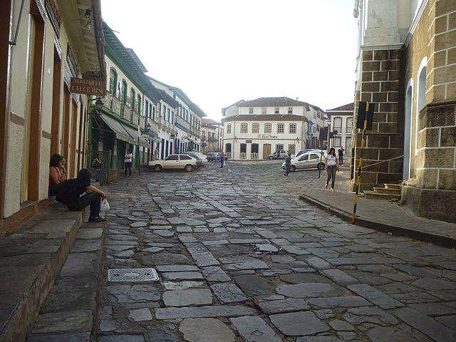 Principais pontos turísticos históricos em Diamantina - Minas Gerais - Centro Histórico