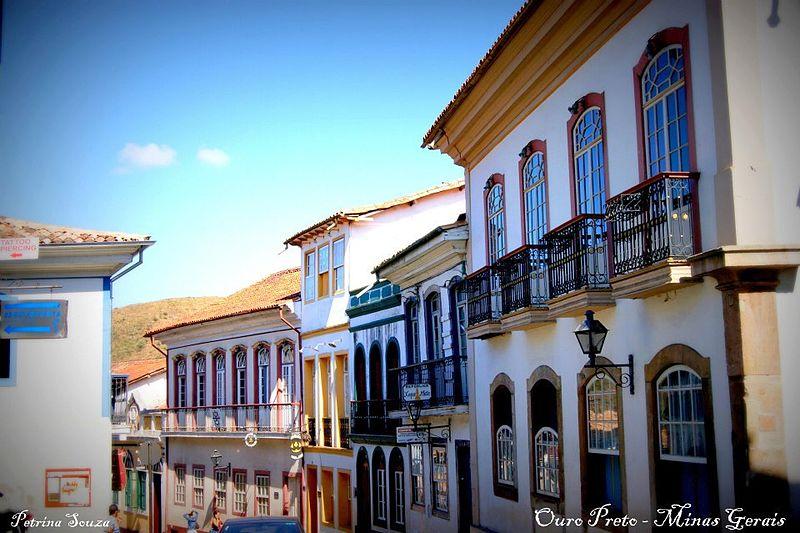 centro historico ouro preto