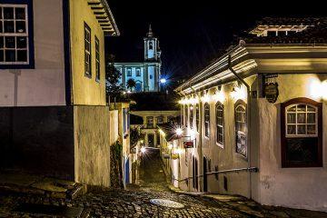 lamparinas de Ouro Preto