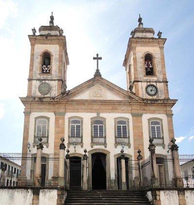 Catedral Basílica de Nossa Senhora do Pilar em São João Del Rei