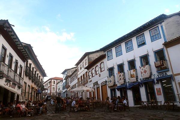 Rua da Quitanda em Diamantina